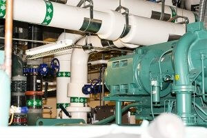 Industrial chiller system-York