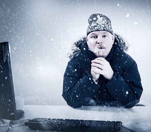 Cold Office Thermostat Settings