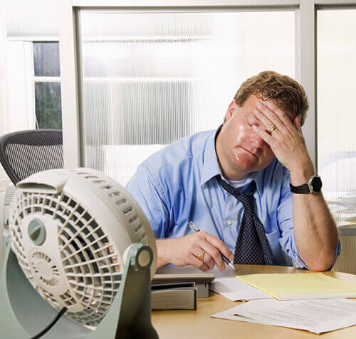 warm Office Thermostat Settings