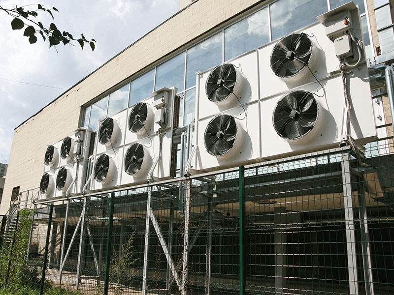 Efficient HVAC design air conditioning