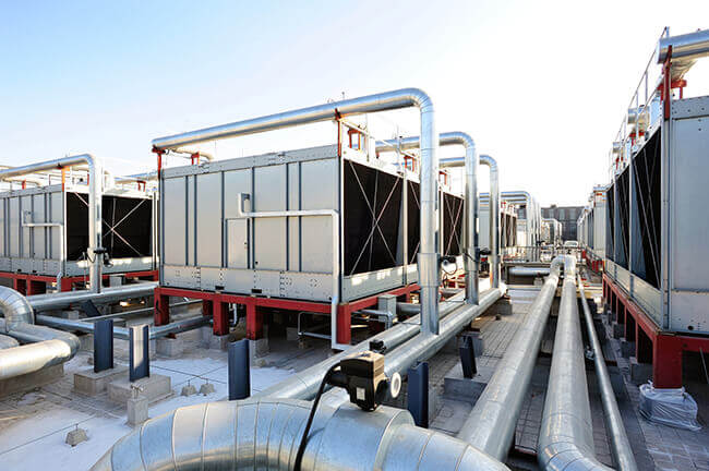 Air Cooled Chillers Vs Water Cooled Chillers The Severn