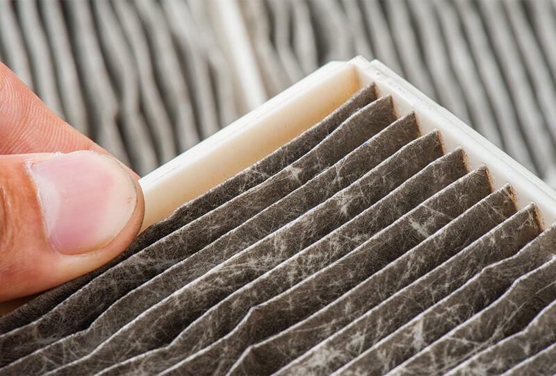 common HVAC problems filter