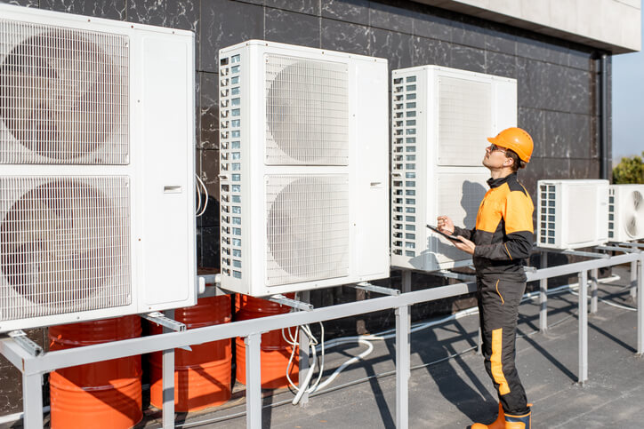commercial vs. residential - commercial rooftop fans